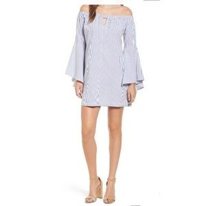 (Mimi Chica) Bell Sleeve Off The Shoulder